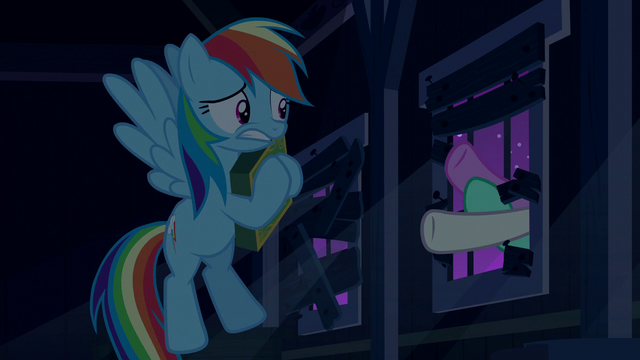 File:Ponies' hooves smash through the window S6E15.png