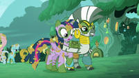 Zecora stops Twilight S5E26