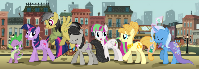 File:FANMADE Manehattan Six.png