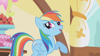 "Rainbow Dash laughing ""priceless"" S1E05"