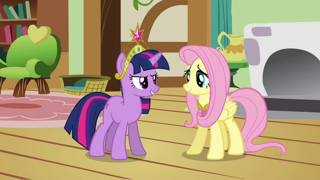 "File:Twilight and Fluttershy ""we need your help"" S03E13.png"