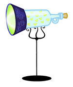 Canterlot Castle Lamp2