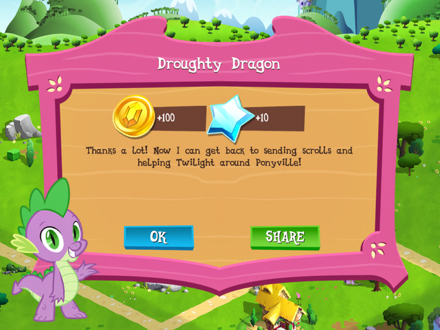 File:Droughty Dragon reward MLP Game.png