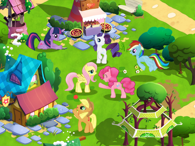 File:My Little Pony mobile game screenshot 1.png