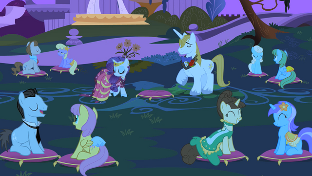 File:Rarity and Blueblood at the garden S1E26.png