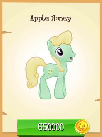 Výsledek obrázku pro mlp apple honey