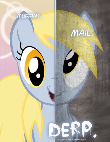 File:FANMADE 2 sides of derpy.jpg