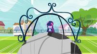 Twilight shields herself from ball EG