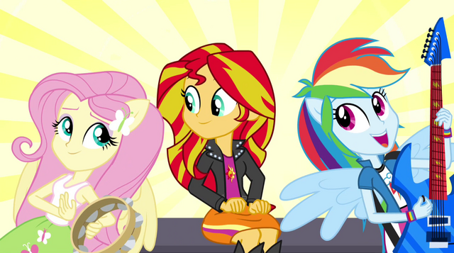 File:Dash and Fluttershy sing next to Sunset EG2.png
