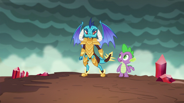 "File:Spike ""what do we do now?"" S6E5.png"