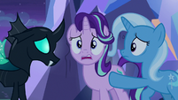 Starlight Glimmer doesn't know what to do S6E25