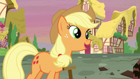 "Applejack sings ""it's not the things that you gather 'round"" S5E3"