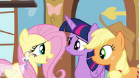"Fluttershy ""don't think they're quite ready"" S4E16"