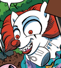 File:Comic issue 4 Pennywise.png