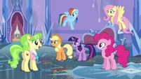 Peachbottom asks about the princess S03E12
