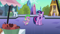 Spike 'I'm coming with you' S3E2