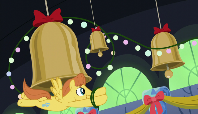 File:Warm Front decorating the bells with ornaments S06E08.png
