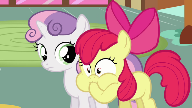 File:Apple Bloom looking unwell S2E17.png
