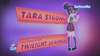 Friendship Games Tara Strong credit - Italian