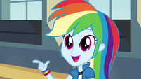 Rainbow Dash gets an idea EG2