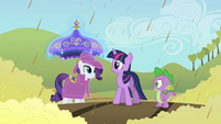 "Rarity ""Spike, Twilight will come up with something"" S2E01"