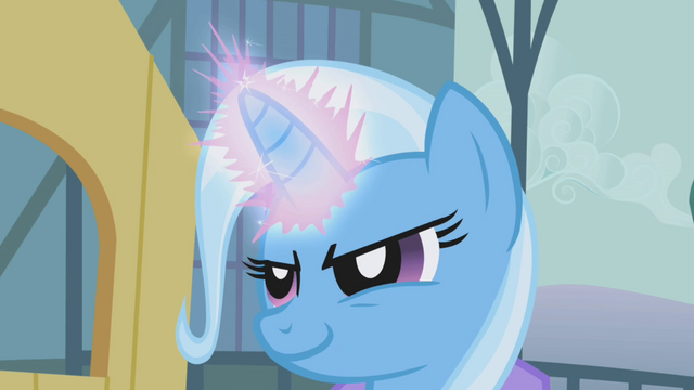 File:Trixie casting magic on Rarity S1E06.png