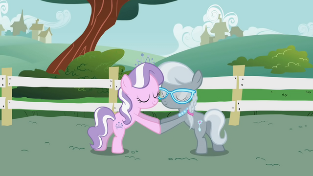 File:Diamond Tiara and Silver Spoon saying their chant 2 S1E12.png