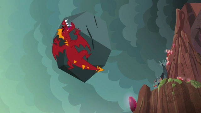 File:Garble gets hit by a boulder S6E5.png