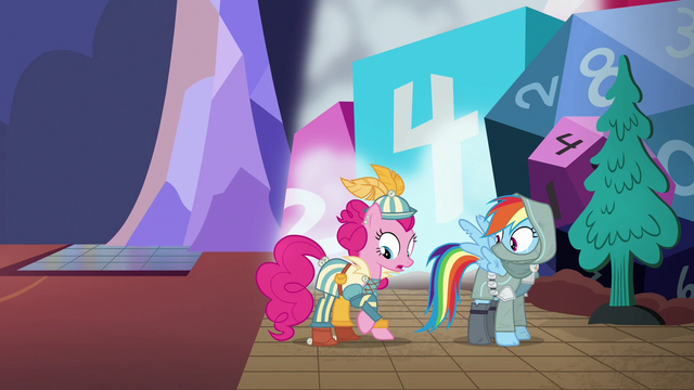 File:Pinkie Pie becomes a bard S6E17.png