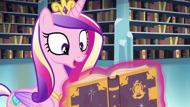 File:Cadance reads the Spell of Relic Reconstitution S6E2.png