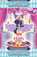 Crystal Heart Spell - Princess Twilight trading card