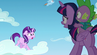 "Starlight ""is that important!""; filly Rainbow passes by S5E26"