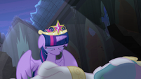 Twilight cries over Princess Celestia's body S4E02