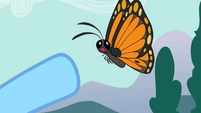 Butterfly opens mouth S2E07