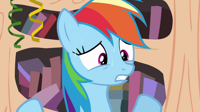 File:Rainbow Dash sweating S4E04.png