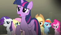"Twilight ""nopony should keep you from your cutie mark"" S5E1"