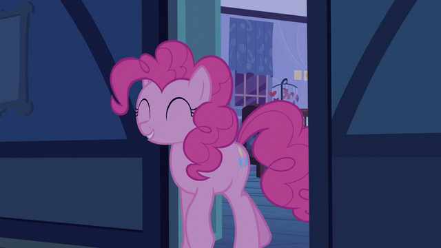 File:Pinkie Pie happy with herself S2E13.png
