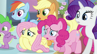 Twilight's friends shocked S2E25