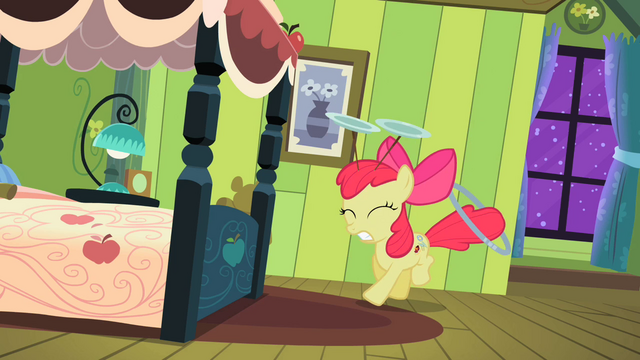 File:Apple Bloom tap dancing S2E06.png