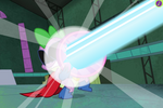 PPG ending - Spike reflects the blast
