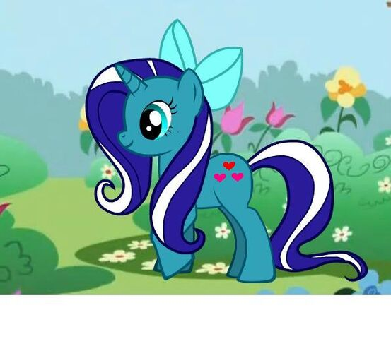 File:FANMADE Maria pony with cutie marks.jpg