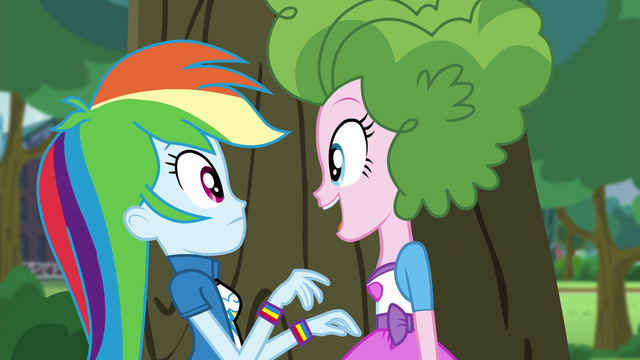 "File:Pinkie Pie ""want to see what else I have?"" EG3.png"