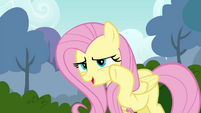 "Fluttershy ""perhaps just a little bit quieter"" S4E16"