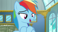 "Rainbow Dash ""you'll have to in the solo trials"" S6E24"