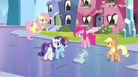 Rarity now, now Rainbow Dash S3E12