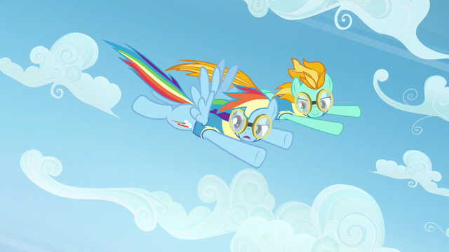 File:Rainbow Dash looking at competition S3E7.png