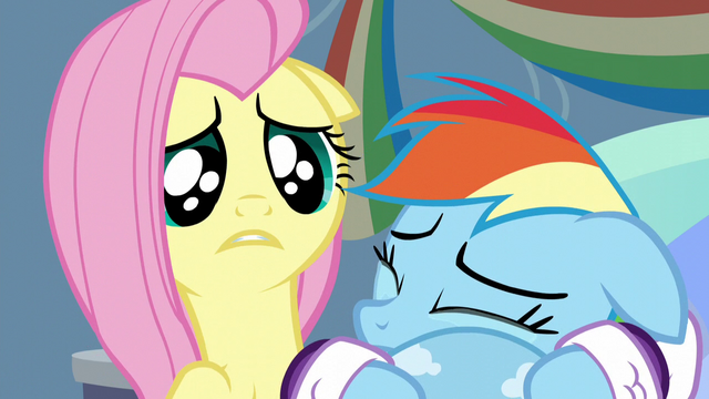 File:Fluttershy feels sorry for Rainbow Dash S5E5.png