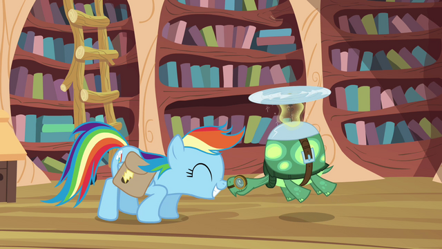 File:Rainbow Dash and Tank nosekiss S03E11.png