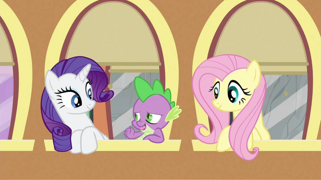 File:Rarity,Spike,&Fluttershy S2E25.png
