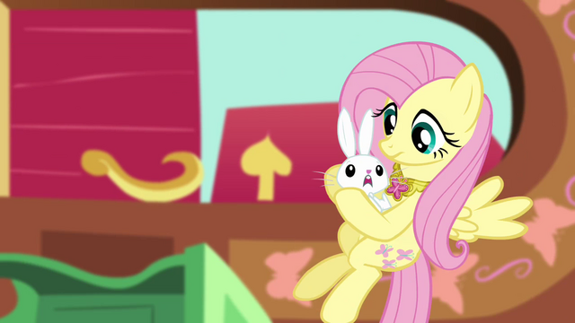 File:Fluttershy catches Angel S03E10.png